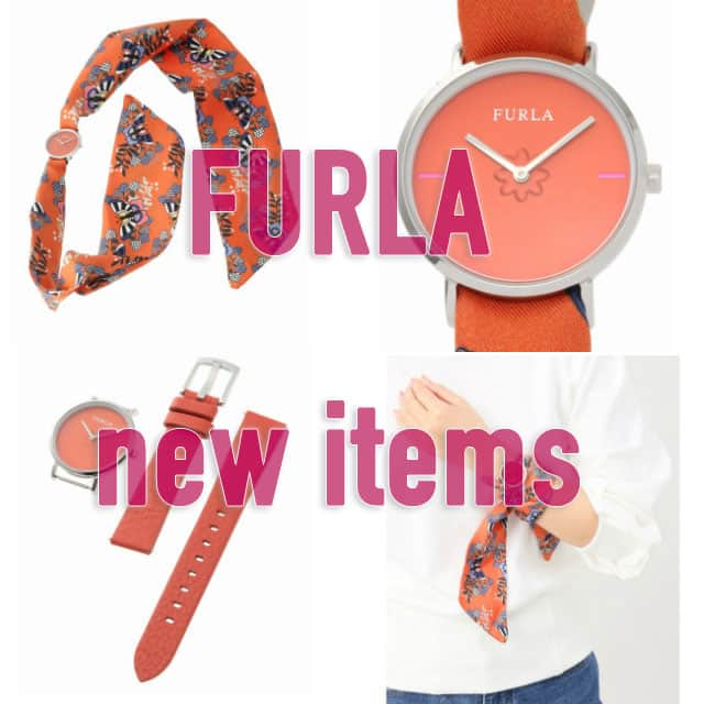 6f26590bb333 FURLA フルラ】ベルトがスカーフの可愛らしいアイテムが新入荷 ...