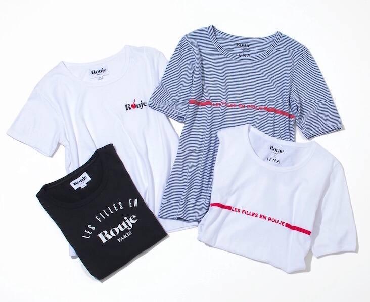 コラボレーション Tシャツ IENA Rouje