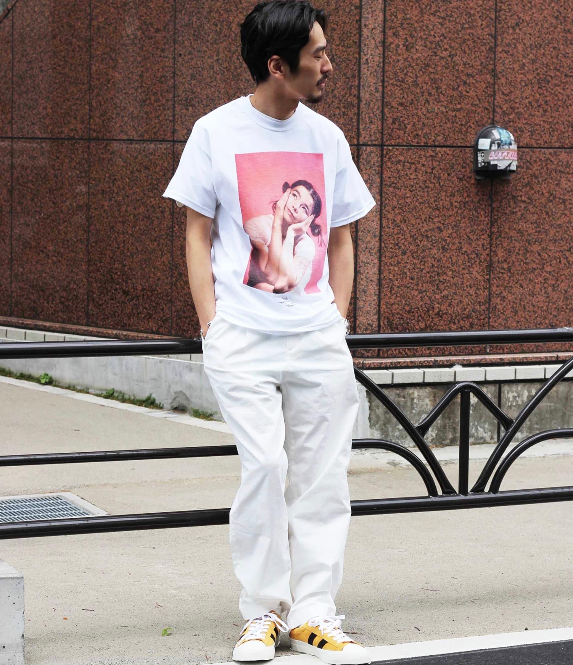 メンズ  レディース 夏 カジュアル Tシャツ ケヴィン・カミンズ ビョーク