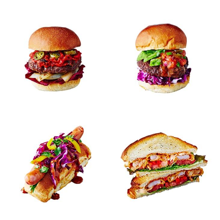 フード J.S. BURGERS CAFE アメリカンスタイル ハンバーガー メニュー リニューアル