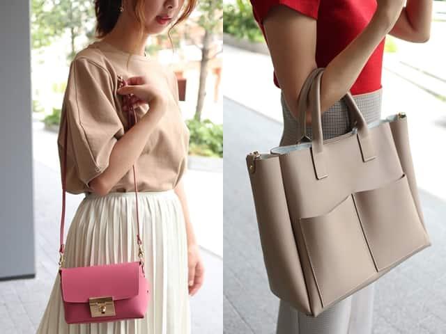 """ca32d01c8938 ロングセラーを誇る人気ブランド""""Carol J"""" デイリーにはもちろん、お出かけシーンも寄り添ってくれる旬なバッグが入荷しました! バッグを変えるだけ で、なぜか新しい ..."""