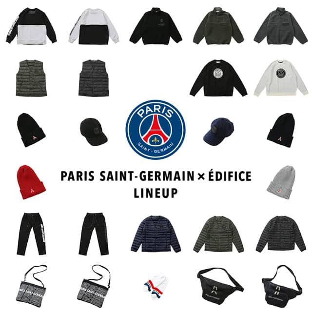 Paris Saint-Germain × EDIFICE フルラインナップ!