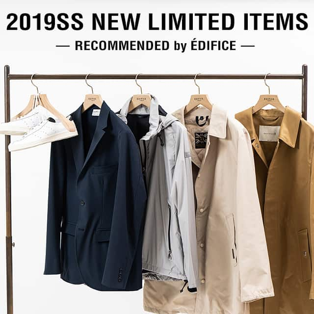 2019SS NEW LIMITED ITEMS RECOMMENDED by EDIFICE