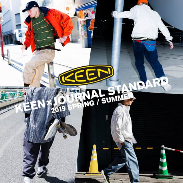 KEEN×JOURNAL STANDARD 2019 SPRING / SUMMER