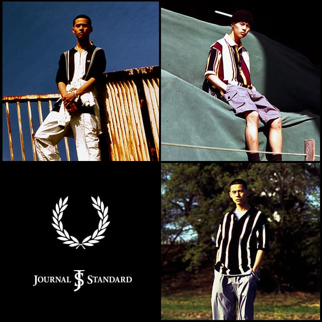 FRED PERRY × JOURNAL STANDARD