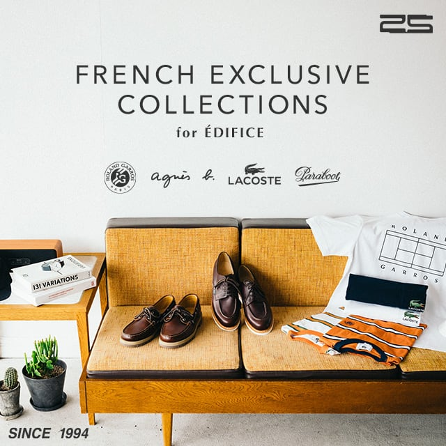 FRENCH EXCLUSIVE COLLECTIONS for EDIFICE