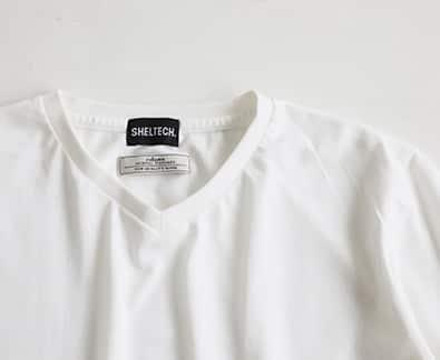 Begin掲載】SHELTECH(R) VネックTシャツBOX