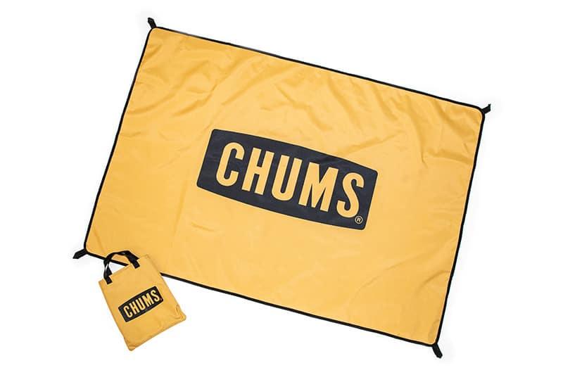 《追加》CHUMS By relume / 別注チャムス Logo Picnic Sheet レジャーシート