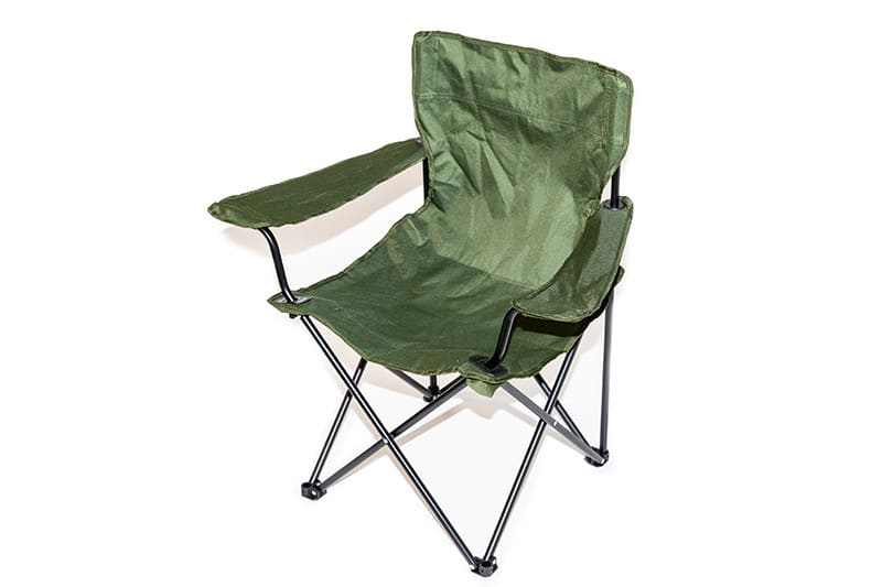 【DEAD STOCK】 UK MILITARY FOLDING CHAIR チェア