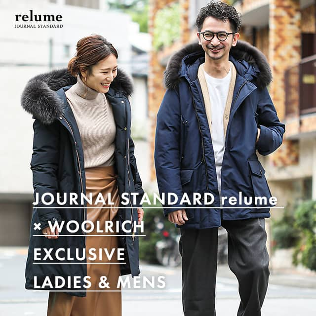 JOURNAL STANDARD relume × WOOLRICH EXCLUSIVE LADIES & MENS