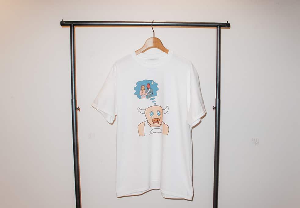 ウシ公Tシャツ