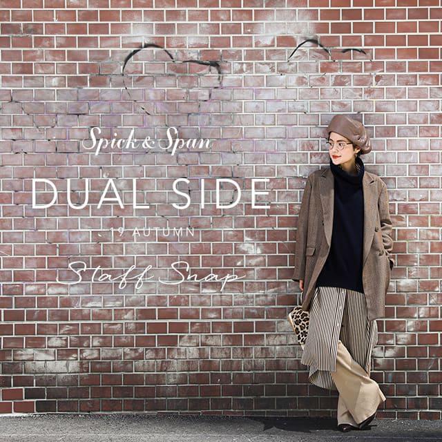 "Spick & Span 2019 AUTUMN ""DUAL SIDE"" Staff Snap"