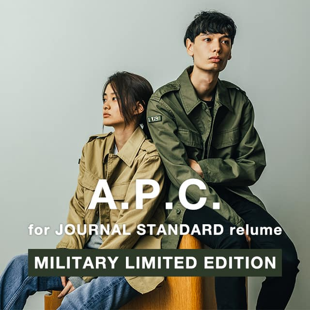 A.P.C. for JOURNAL STANDARD relume MILITARY LIMITED EDITION