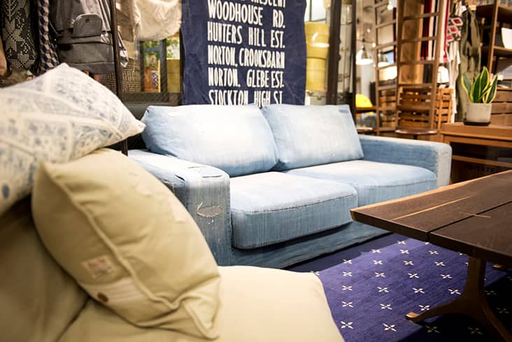 FRANKLIN SOFA DENIM