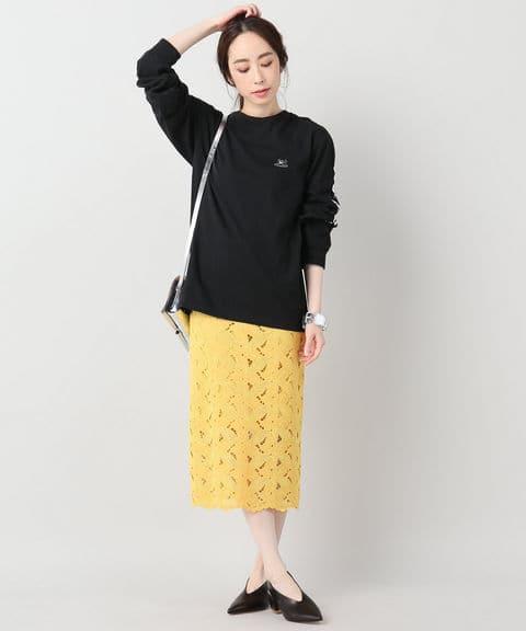 JOURNAL STANDARDリーフレーススカート◆