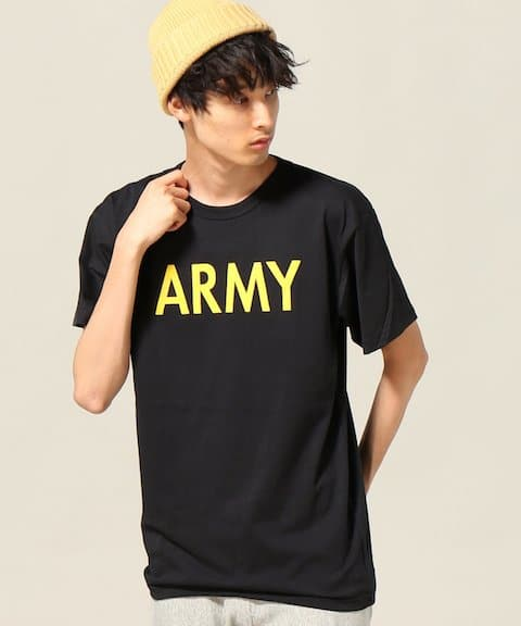 JOURNAL STANDARD ROTHCO / ロスコ : ARMY T-SH C/P