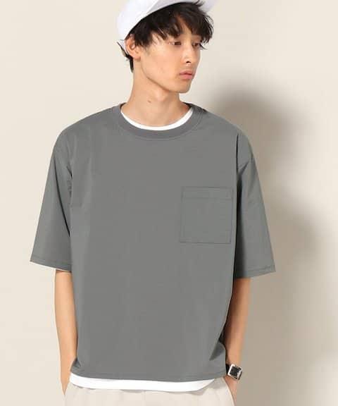 JOURNAL STANDARD relume 【3点セット】ライトシアサッカー パッカブルTシャツ