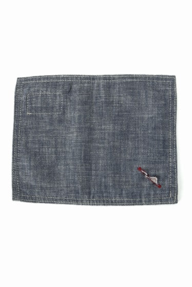 BasShu CAFE MAT CHAMBRAY