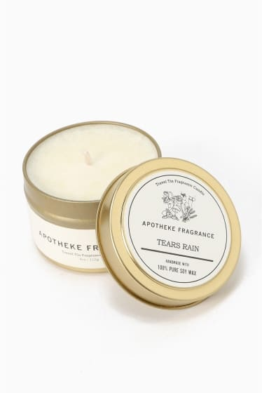 APOTHEKE FRAGRANCE Tin Candle