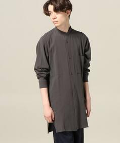 AILE 100/2 GV ロングバンドカラーシャツ
