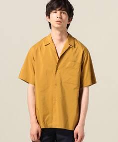 AILE C/siポプリン オープンカラーシャツ