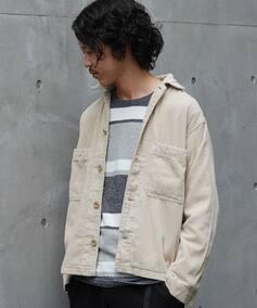 6W CORDUROY / コーデュロイシャツジャケット : K-FIELD SH JKT