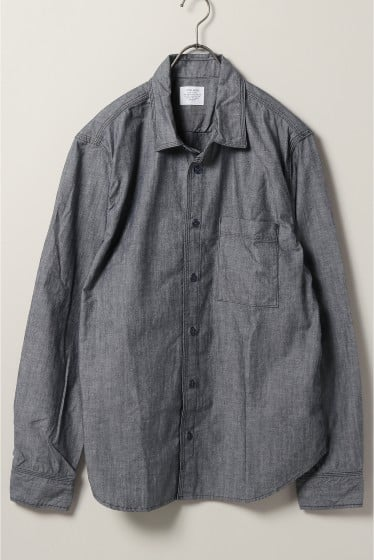 HOMEWORK Chambray Overshirt