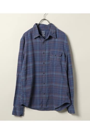 SKU Plaid Flannel Work Shirt