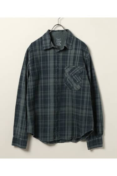 SKU Heavy Plaid Flannel Overshirt