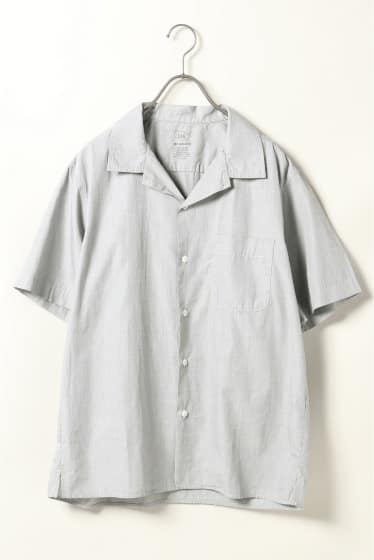 S/S End on End Simple Camp Shirt