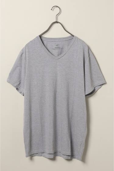 S/S Heather V-Neck Tee