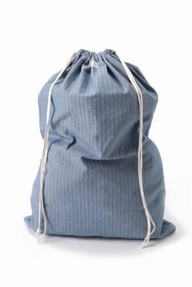 HOMEWORK Overdye Fisher Stripe Laundry BAG