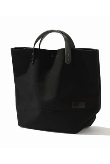 BUDDY*SKU Collar Leather Tote Short