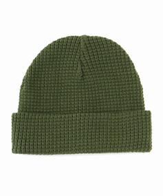 417 SHORT COTTON WAFFLE WATCH CAP