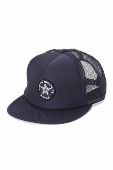 Navy Trucker W/Crafted Patch