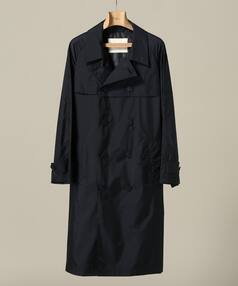 Nylon Raglan Trench Coat 18020330200418: Navy