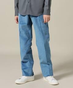 Corduroy Trousers 18030310004530: Blue
