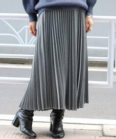 キモウシャンレー プリーツスカート