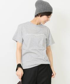*GOLDEN GOOSE LOGO GREY Tシャツ