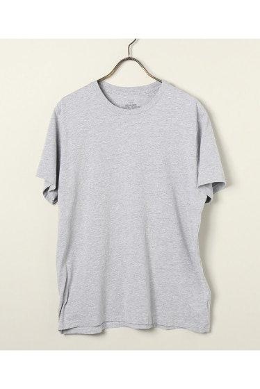 SAVE KHAKI UNITED :S/S HEATHER CREW TEE