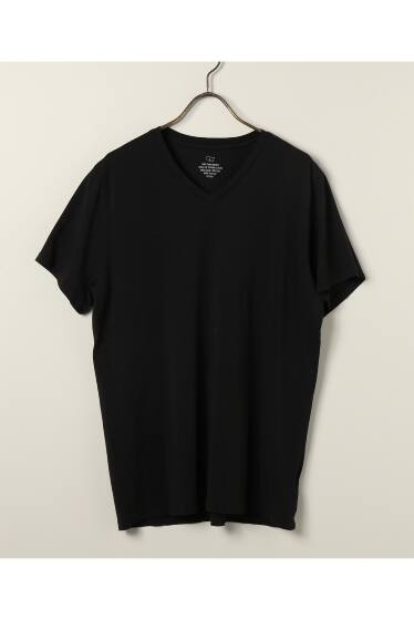 SAVE KHAKI UNITED  : S/S SUPIMA V-NECK TEE
