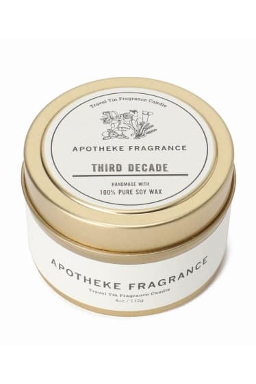 APOTHEKE FRAGRANCE TIN CANDLE