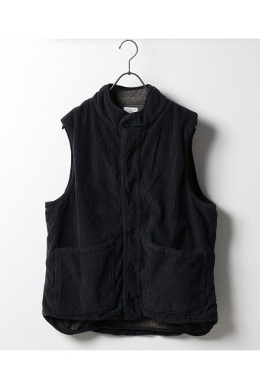 SKU CORDUROY AND BERBER VEST
