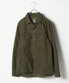 SAVE KHAKI UNITED FLEECE LINED シャツジャケット