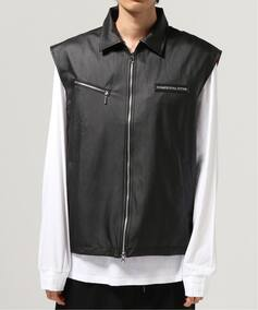 ANOTHER YOUTH reversible vest