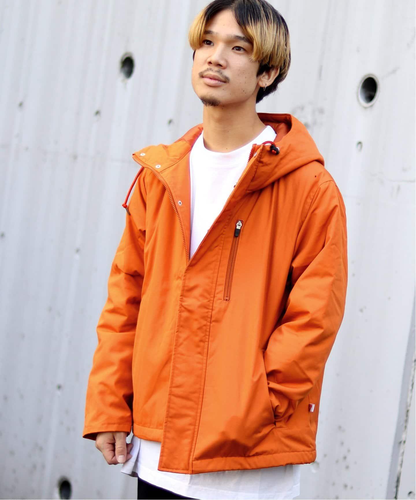 B.C STOCKのアウター(コート・ジャケットなど)/ダウンジャケット・ダウンコート|オレンジ