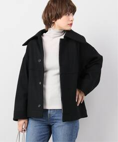 【Honnete 】Short Balloon Coat