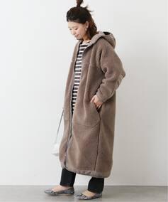 【SUNNY SPORTS/サニースポーツ】  BOA HOODY LONG:コート