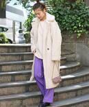 【APPARIS/アパリス】Faux Shearling long coat:コート