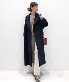 Lisiere Wool Elegant Coat